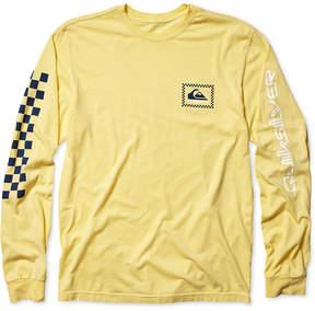Quiksilver Men's Checkas Long-Sleeve T-Shirt