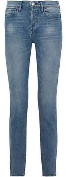 3x1 Shelter High-Rise Faded Slim-Leg Jeans