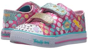 Skechers Shuffles - Poppin' 10835N Lights Girls Shoes