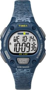 Timex IRONMAN Essential TW5M074009 Gray Blue Resin Digital Unisex Watch