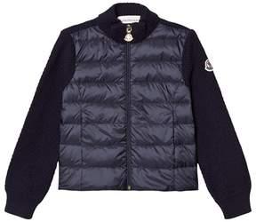 Moncler Navy Maglia Sweater