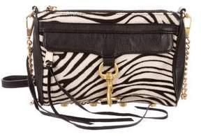 Rebecca Minkoff Ponyhair Zebra Print Mini M.A.C. Crossbody Bag