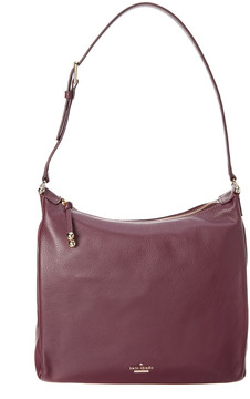 Kate Spade Lomart Street Paulie Leather Hobo - PURPLE - STYLE
