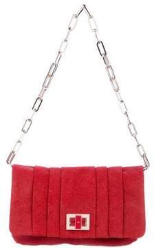 Anya Hindmarch Crystal Suede Shoulder Bag