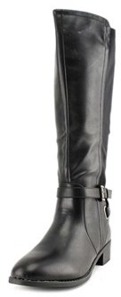 Rampage Ilite Women Round Toe Synthetic Black Knee High Boot.