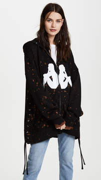 Faith Connexion Kappa Bleach Hooded Jacket