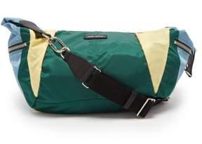 Isabel Marant Nilwey Tricolour Half Moon Bag - Womens - Green Multi
