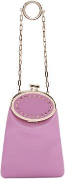 Valentino Pink Garavani Vanity Charm Clutch