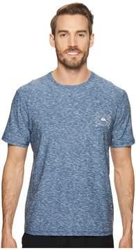 Quiksilver Waterman Water Marked Short Sleeve Men's T Shirt