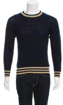 Dries Van Noten Striped Cashmere-Blend Sweater