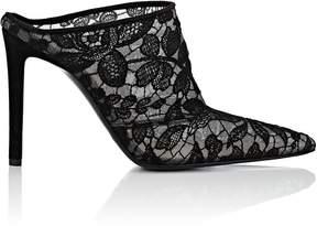 Altuzarra Women's Lace Pointed-Toe Mules