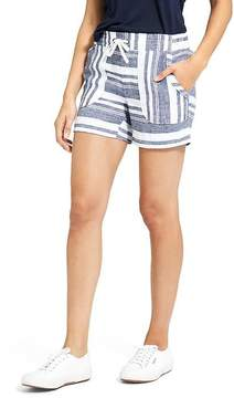 Athleta Bold Stripe Linen Short