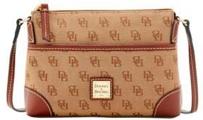Dooney & Bourke Madison Signature Ginger Pouchette Shoulder Bag - AMBER - STYLE