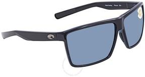 Costa del Mar Rincon X-Large Grey Silver Mirror Sunglasses RIN 11 OSGP