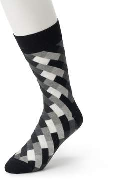 HS by Happy Socks Men's Patterned Crew Socks
