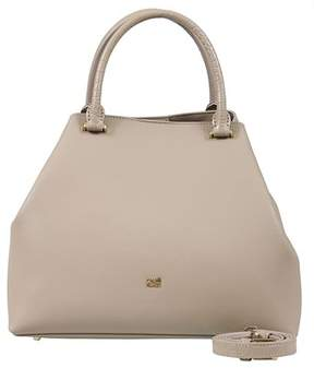Class Roberto Cavalli Taupe Woman Leather Bag.