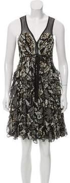 Matthew Williamson Textured Mini Dress