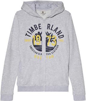 Timberland Kids Grey Large Tree Logo Hoodie