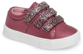 Kenneth Cole New York Toddler Girl's Kam Glitter Strap Sneaker