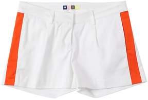 MSGM Cotton Sateen Chino Shorts
