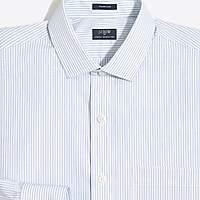 J.Crew Factory Striped flex wrinkle-free dress shirt