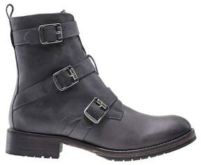 Wolverine Lizzie Waterproof Moto Leather Buckle Boot