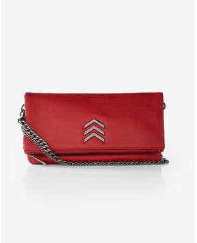 Express Chain Strap Chevron Convertible Cross Body Bag
