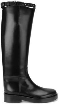Ann Demeulemeester buckle strap boots