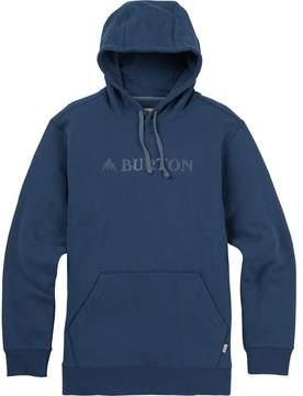 Burton Mountain Logo Horizontal Pullover Hoodie
