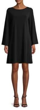 Context Bell-Sleeve Shift Dress