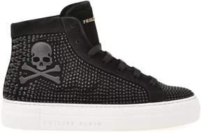 Philipp Plein Hi-top Leather Sneaker