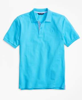 Brooks Brothers Short-Sleeve Pique Polo Shirt