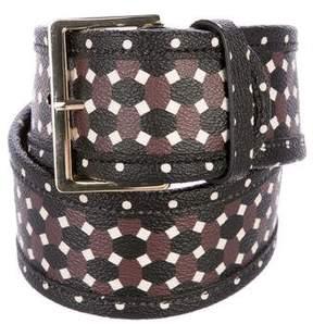 Tory Burch Printed Waist Belt