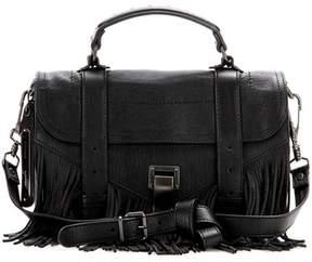 Proenza Schouler PS1 Tiny Fringe leather shoulder bag