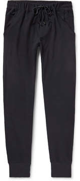 Zimmerli Slim-Fit Tapered Stretch-Cotton Jersey Sweatpants