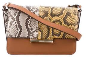 Jason Wu Python-Trimmed Diane Crossbody Bag