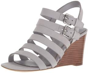 Lauren Ralph Lauren LAUREN by Ralph Lauren Womens Aleigh Leather Open Toe Casual Ankle Strap Sand...