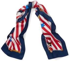 Ralph Lauren Nautical Silk Scarf