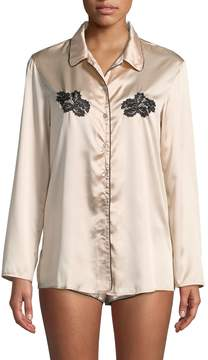 Cosabella Paul & Joe Women's Paige Embroidery Top