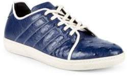 Mezlan Ostrich Leather Sneakers