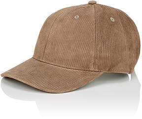 Rag & Bone Men's Lenox Suede Corduroy Baseball Cap
