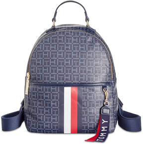 Tommy Hilfiger Roma Jacquard Signature Backpack