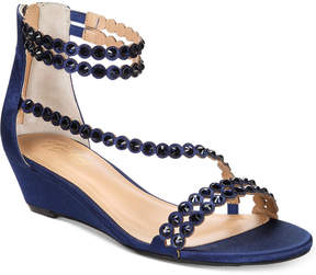 Thalia Sodi Tachani Wedge Dress Sandals, Created For Macy's Women's Shoes