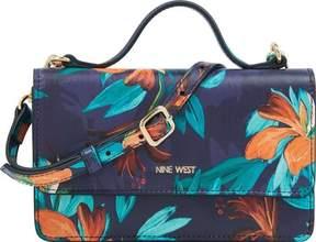Nine West Top Handle Floral Wallet Crossbody (Women's)