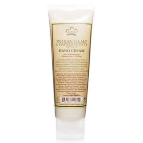 Nubian Heritage Hand Cream - Indian Hemp + Haitian Vetiver by 4oz Cream)