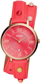 Fossil Women's Jacqueline Three-Hand Date Quartz Watch