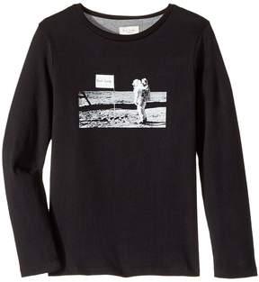 Paul Smith Tee Shirt Astronaut On Moon Boy's T Shirt