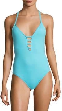 LaBlanca La Blanca Women's Island Keyhole One Piece Swimsuit