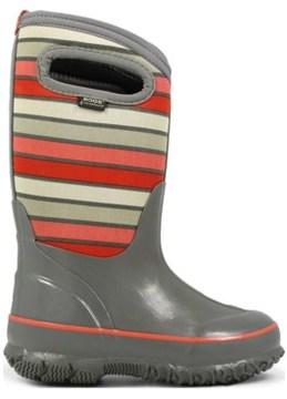 Bogs Kids' Classic Stripes Winter Boot Toddler/Pre/Grade School
