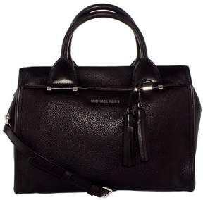 Michael Kors Geneva Large Satchel - Black - 30F6STXS3L-001